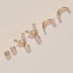 Anthropologie George and Viv Earrings Set
